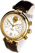 Продам часы золотые с браслетом