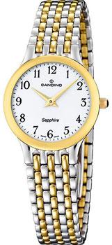 Швейцарские наручные  женские часы Candino C4415.3. Коллекция Timeless