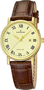 Швейцарские наручные  женские часы Candino C4490.4. Коллекция Class