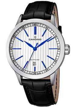 Швейцарские наручные мужские часы Candino C4506.2. Коллекция Elegance фото