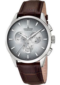 Швейцарские наручные  мужские часы Candino C4517.5. Коллекци Chronograph