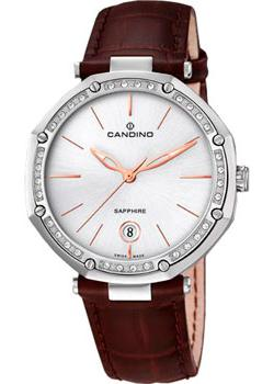 Швейцарские наручные  женские часы Candino C4526.6. Коллекция Elegance
