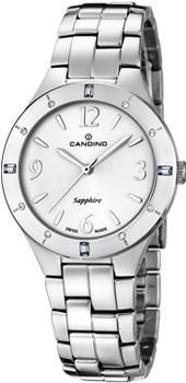 Швейцарские наручные  женские часы Candino C4571.1. Коллекция Elegance