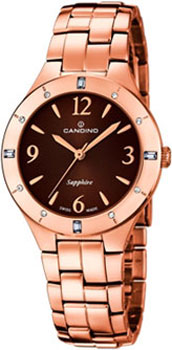 Швейцарские наручные  женские часы Candino C4573.2. Коллекция Elegance