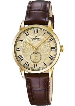 Швейцарские наручные  женские часы Candino C4594.4. Коллекция Classic