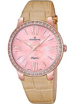 Швейцарские наручные  женские часы Candino C4598.2. Коллекция Elegance