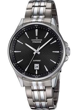 Швейцарские наручные  мужские часы Candino C4606.4. Коллекци Titanium