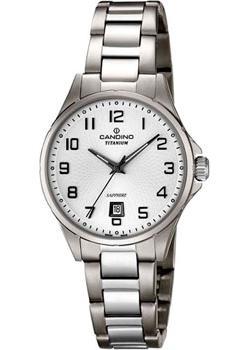 Швейцарские наручные  женские часы Candino C4608.1. Коллекция Titanium