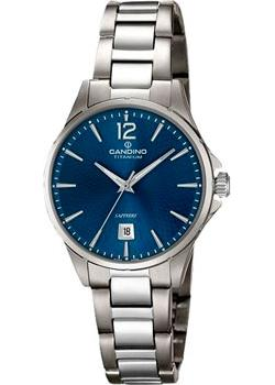 Швейцарские наручные  женские часы Candino C4608.2. Коллекция Titanium