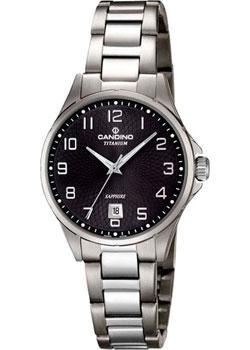 Швейцарские наручные  женские часы Candino C4608.4. Коллекция Titanium