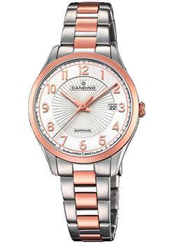 Швейцарские наручные  женские часы Candino C4610.1. Коллекция Adonis