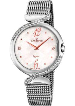 Швейцарские наручные  женские часы Candino C4611.1. Коллекция Elegance