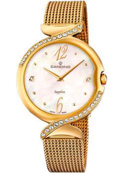 Швейцарские наручные  женские часы Candino C4612.1. Коллекция Elegance