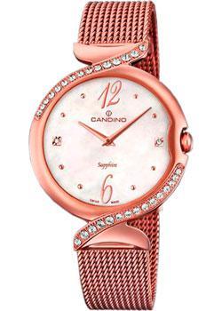 Швейцарские наручные  женские часы Candino C4613.1. Коллекция Elegance