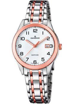 Швейцарские наручные  женские часы Candino C4617.1. Коллекция Classic