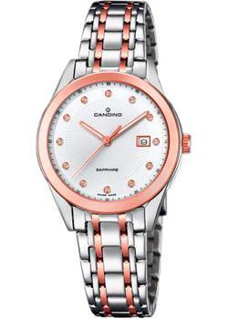Швейцарские наручные  женские часы Candino C4617.3. Коллекция Classic