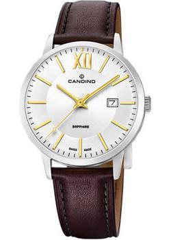Швейцарские наручные  мужские часы Candino C4618.2. Коллекци Classic