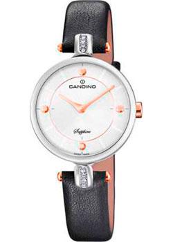Швейцарские наручные  женские часы Candino C4658.2. Коллекция Elegance
