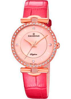 Швейцарские наручные  женские часы Candino C4674.1. Коллекция Elegance
