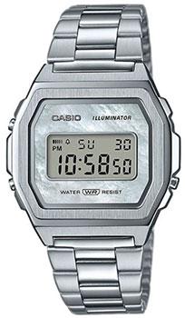 Японские наручные мужские часы Casio A1000D-7EF. Коллекция Digital фото