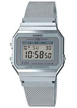 Японские наручные мужские часы Casio A700WEM-7AEF. Коллекция Digital фото