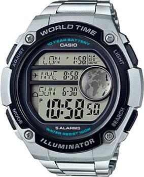 Купить Японские наручные мужские часы Casio AE-3000WD-1A. Коллекция Digital