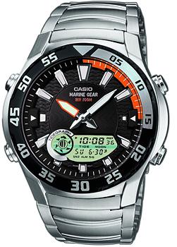 Купить Часы мужские Японские наручные  мужские часы Casio AMW-710D-1A. Коллекция Sports  Японские наручные  мужские часы Casio AMW-710D-1A. Коллекция Sports
