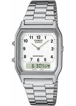 Японские наручные  мужские часы Casio AQ-230A-7B. Коллекция Combinaton Watches
