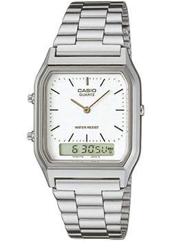 Японские наручные  мужские часы Casio AQ-230A-7D. Коллекция Combinaton Watches