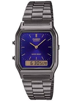 Японские наручные  мужские часы Casio AQ-230EGG-2AEF. Коллекция Ana-Digi