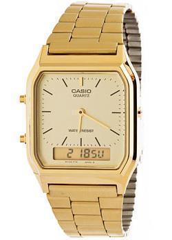 Японские наручные  мужские часы Casio AQ-230GA-9D. Коллекция Ana-Digi