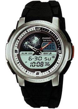 Японские наручные  мужские часы Casio AQF-102W-7B. Коллекция Standart Bestwatch 2320.000