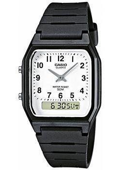 Японские наручные  мужские часы Casio AW-48H-7B. Коллекция Ana-Digi