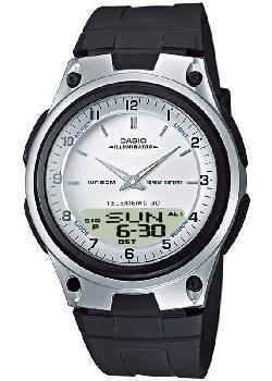 Японские наручные  мужские часы Casio AW-80-7A. Коллекция Combinaton Watches