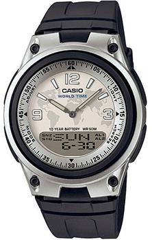 Японские наручные  мужские часы Casio AW-80-7A2. Коллекция Combinaton Watches