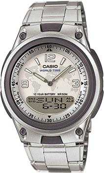 Японские наручные  мужские часы Casio AW-80D-7A2. Коллекция Combinaton Watches