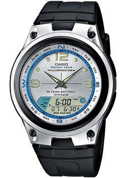 Японские наручные  мужские часы Casio AW-82-7A. Коллекция Combinaton Watches