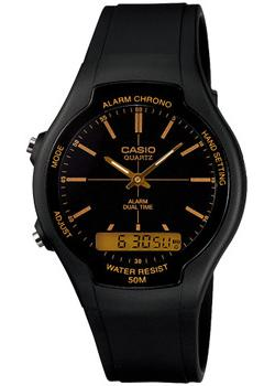 Японские наручные мужские часы Casio AW-90H-9E. Коллекция Ana-Digi