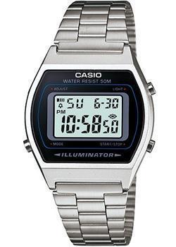 Японские наручные  мужские часы Casio B640WD-1A. Коллекция Illuminator