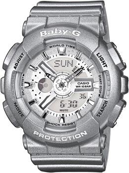 Японские наручные  женские часы Casio BA-110-8A. Коллекция Baby-G