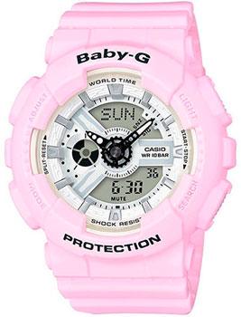 Японские наручные  женские часы Casio BA-110BE-4A. Коллекция Baby-G