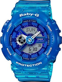 Японские наручные  женские часы Casio BA-110JM-2A. Коллекция Baby-G