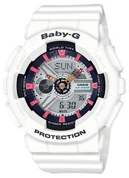 Японские наручные  женские часы Casio BA-110SN-7A. Коллекция Baby-G