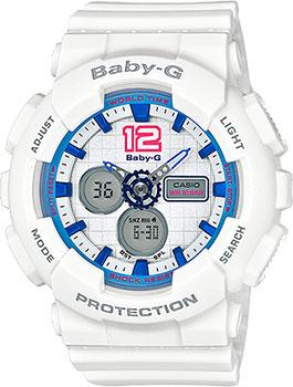 Японские наручные  женские часы Casio BA-120-7B. Коллекция Baby-G
