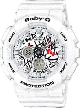 Японские наручные  женские часы Casio BA-120KT-7A. Коллекция Baby-G