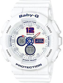 Японские наручные  женские часы Casio BA-120TR-7B. Коллекция Baby-G