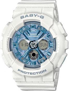 Японские наручные  женские часы Casio BA-130-7A2ER. Коллекция Baby-G