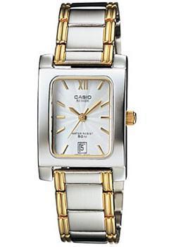 Японские наручные  женские часы Casio BEL-100SG-7A. Коллекция Beside