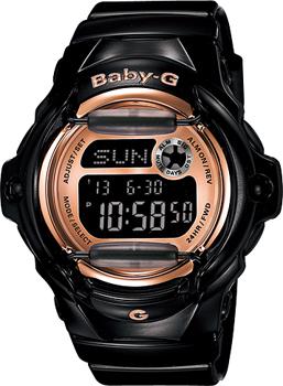 Японские наручные  женские часы Casio BG-169G-1E. Коллекция Baby-G
