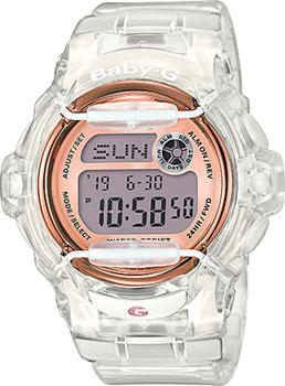 Японские наручные  женские часы Casio BG-169G-7B. Коллекция Baby-G